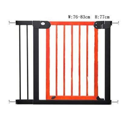 Effen houten deuren voor de veiligheid van kinderen 77CM hoge trap Rails voor baby hekken huisdier poorten hond hek deuren isolatie deuren Punchless deuren