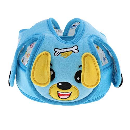 Fenteer Kleinkind Schutzhelm Kopfschutz, Baby Helmet, Kinder Sturzhelm, Verstellbar Kopfschutzmütze für Krabbeln, Laufen oder Spielen - Hund