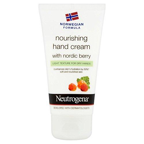 Neutrogena Norwegian formula Nourishing Hand Cream with Nordic Berry, 75 ml