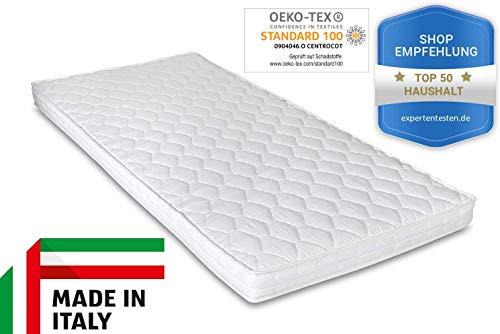 Ortho-Relax Komfortschaummatratze, 10 cm hoch, Besonders geeignet für Wohnwagen und Wohnmobile, LKW-Kabinen, Ferienwohnungen und als Gästebett (140x200)