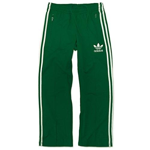 adidas Originals Europa TP Beckenbauer Trainingshose Hose Sporthose GRÜN WEIß, Größe:XS, Farbe:Grün