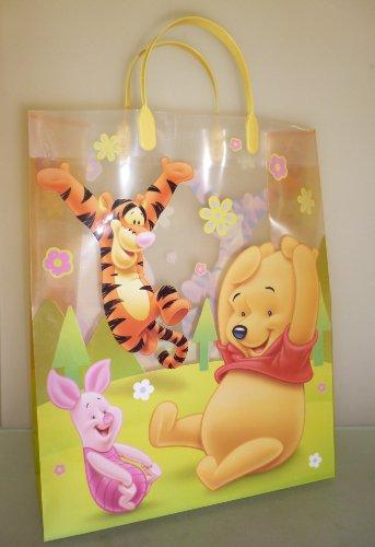 Pack de 3 X 39 cm x 32 cm Disney Winnie l'ourson Shopping sac cadeau / sac (HL86)