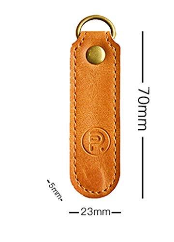 Somnus258『本革SIMカードキーホルダー』