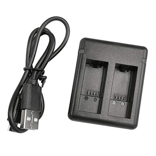 Gazechimp Baterías Cargador Rápido USB de 2 Vías de 1720 MAh con Cable para GoPro Hero 9 Hero9-2 Cargador