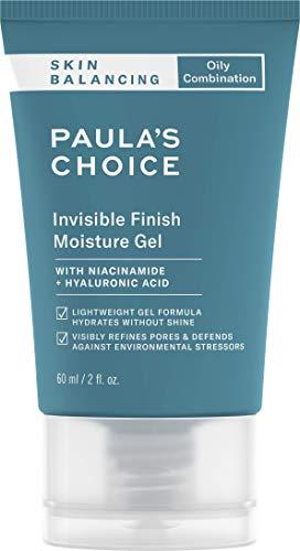 Paula's Choice Skin Balancing Feuchtigkeitscreme - Mattierende Gel spendet Feuchtigkeit - Reduziert die Poren, Mitesser & Unreine Haut - Nachtpflege mit Niacinamid - Mischhaut bis Fettige Haut - 60 ml