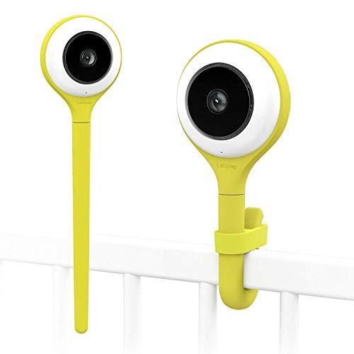 Lollipop camera, cámara para bebés, monitor para bebé, detección de llanto, multistreaming, visión nocturna, soporte para pared, monitor para bebés wifi, detección de cruce (pistachio)…