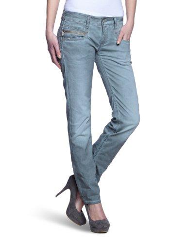 Freeman T.Porter - Pantalón para Mujer, Talla W24 (ES 34), Color Blanco (f32 34 Winter Sky l34)