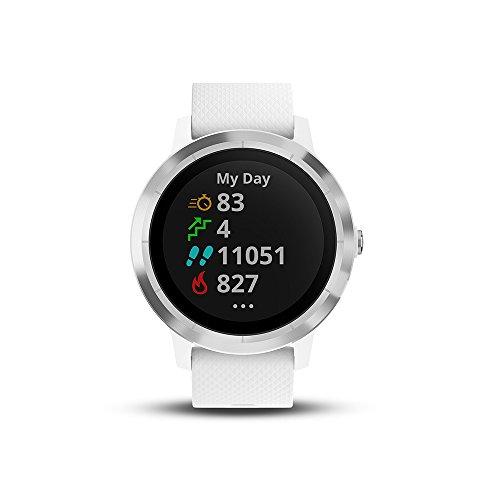 Garmin - Vivoactive 3 - Montre Connectée de Sport avec GPS et Cardio Poignet (Ecran : 1,6 pouces) -...