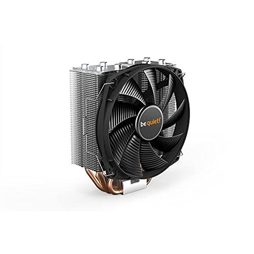 be quiet! Shadow Rock Slim 2 BK032 - Ventilador de CPU (muy alta potencia de refrigeración y funcionamiento silencioso), color negro