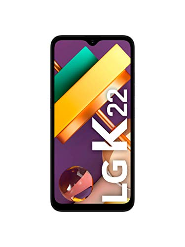 LG K22 - Smartphone 6,2' (Bluetooth 5.1 BLE, 2GB RAM/32GB ROM, Pantalla IPS FullVision 15,7cm HD+, cámara Dual 13MP y Modo Macro, Dual SIM, NFC) Gris [Versión ES/PT]