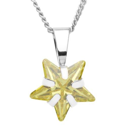 InCollections 7330200032401 - Catenina con pendente per bambini con zirconia cubica, argento sterling 925
