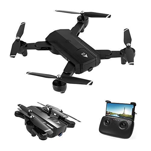 Goolsky Fotocamera HD SG900-S 720P WiFi FPV GPS Posizionamento Seguimi Altitudine Tenere Pieghevole RC Selfie Drone Quadcopter
