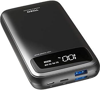 Tozo PB2 20000mAh PD+QC 3.0 Fast Charging Portable Power Bank