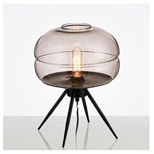Lámparas de mesa y mesilla de noche Lámpara de mesa moderna dormitorio de noche Lámparas de mesa for la sala de cristal lámpara de escritorio for el estudio teórico mesa de iluminación Lámparas de esc