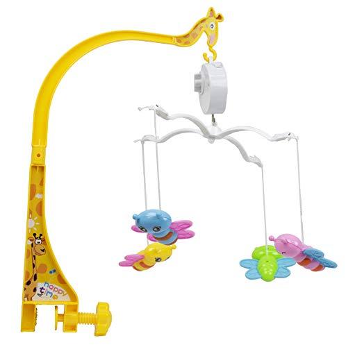Mobile Baby Diversão Musical Com Borboletas BBR TOYS