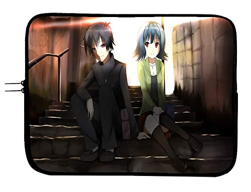 Medaka Box! Anime Laptop Sleeve Bag 13 Inch Laptop & Tablet Sleeve Bag Case - Protects Your Notebook Mac Book Pro MacBook Air iPad or Windows Devices in Style