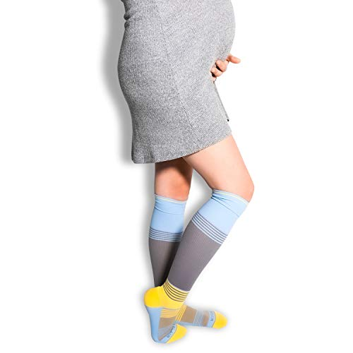 Maternity Compression Socks | Pregnancy Sock Stocking - All Day Soft Comfort Fit