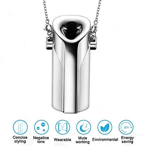HUWAI-F El Collar usable Personal purificador Aire