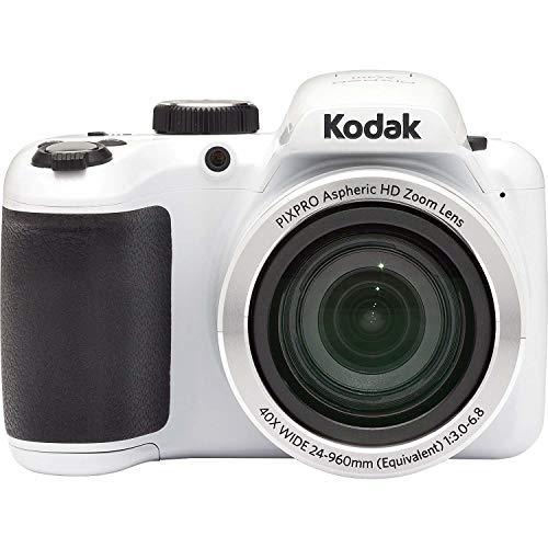 "Kodak AZ401-WH PIXPRO 16MP Fotocamera Digitale, 3"", Bianco"