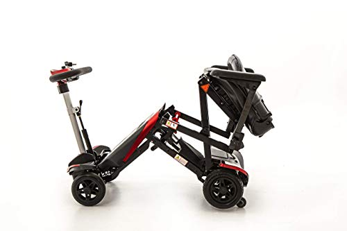 Wheelchair Wheelchair, Medical Rehab Chair for Seniors,Old People,Monarch Smarti Mobility Scooter - Automatic Folding Mobility Scooter - Lightweight Folding Power Scooter for Adults