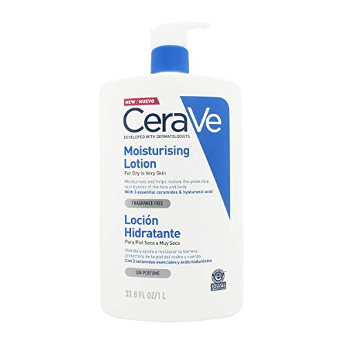 Cerave Moisturizing Lotion Dry And Very Dry Skin 1l