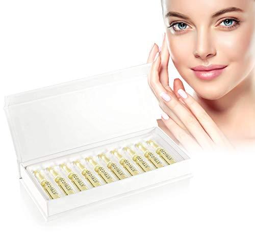 STRUZZO - Hyaluronsäure Lifting-Ampullen, hochdosiert | für ein jüngeres Hautbild voller Elastizität und Frische (Ampullen)