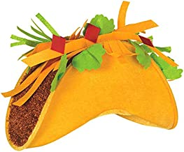 Amscan Taco party-hats, One Size, Multicolor