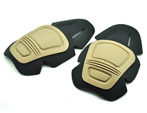 TMC Airsoft Knee Insert Pads Trousers Gen Fits CRYE Precision Tan Sand CB