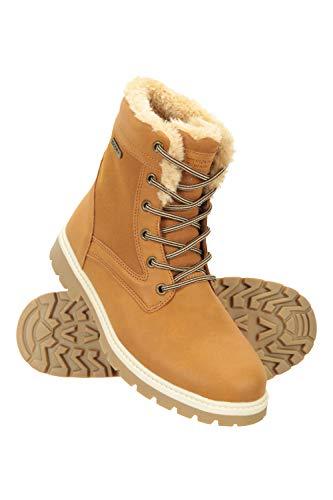 Mountain Warehouse Botas Informales e Impermeables para Mujer - Ligeras, Transpirables y de fácil Cuidado - para Senderismo, Camping y Viajes Marrón Talla Zapatos Mujer 40 EU