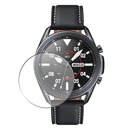 Vaxson 3 Unidades Protector de Pantalla, compatible con SAMSUNG galaxy watch3 watch 3 41mm [No Vidrio Templado] TPU Película Protectora Reloj Inteligente Film Guard Nueva Versión
