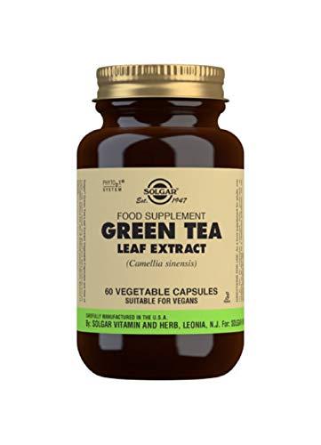 Solgar Green Tea Leaf Extract Vegetable Capsules - Pack of 60