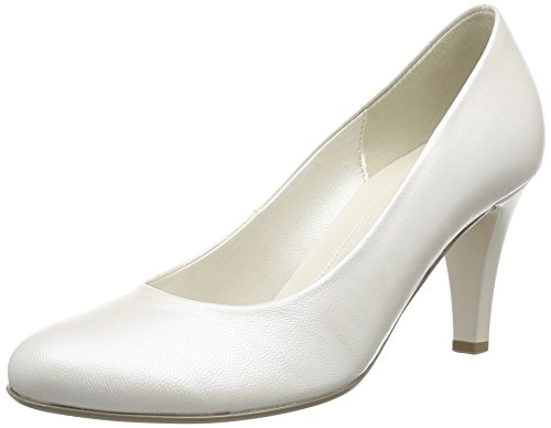 Gabor Damen Lavender Pumps, Elfenbein (Off White Pearlised Leather), 40.5 EU
