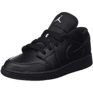 Customer reviews Nike Unisex Kids' Air Jordan 1 Low (GS) Basketball Shoes, Black (Black/White Black 006), 3.5 UK 36 EU:Schedulingsoftware