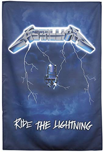 Ride the Lightning Textil Poster