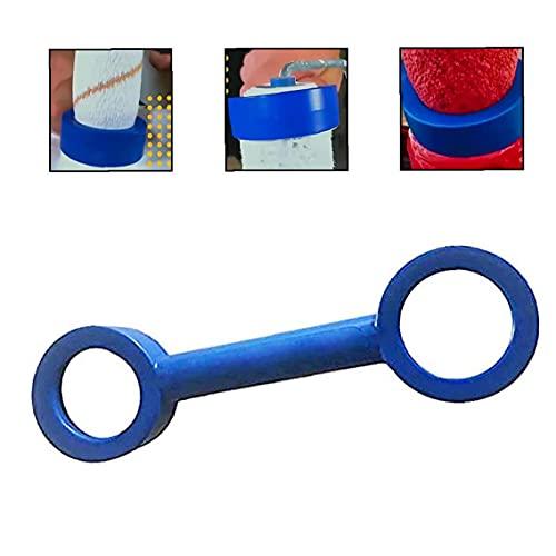 Sanfiyya Verf Roller Cleaner Tool, 24 cm Verf Roller Mouw Cleaner Verf Verwijderen Schrapen Reiniging Gereedschap