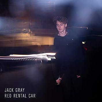 Red Rental Car