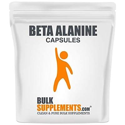 BulkSupplements.com Beta Alanine - Workout Recovery - Beta Alanine Capsules - Beta Alanine Pills (300 Gelatin Capsules - 300 Servings)