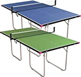 Butterfly Junior Stationary Ping Pong Table - 3/4 Size Table Tennis Table - Space Saver Game Table for Game...