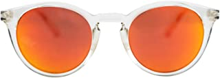 MessyWeekend Hobbes - Round Contemporary Designer Sunglasses with UV400 protection