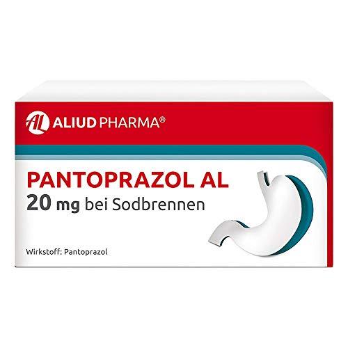 Pantoprazol AL 20 mg Tabletten bei Sodbrennen, 14 St. Tabletten
