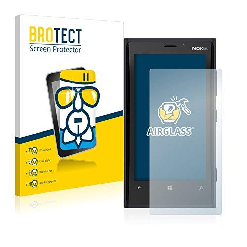 Preisvergleich Produktbild BROTECT Panzerglas Schutzfolie kompatibel mit Nokia Lumia 920 - AirGlass,  extrem Kratzfest,  Anti-Fingerprint,  Ultra-transparent
