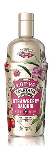 Coppa Cocktails Premium Ready-to-Drink Premixed Strawberry Daiquiri, 70cl, 211105211