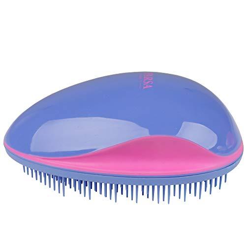 Entwirrbürste, Detangler-Bürste, Haare Entwirren Ohne Ziepen In LILA-PINK, Perfekt Für Lange Haare, Dünnes oder Dickes Haar Egal Ob Nass Oder Trocken Von PARSA