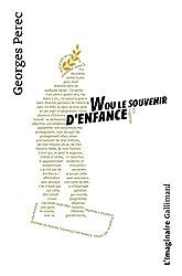 4 livres essentiels de Georges Perec, évoqués dans la vidéo et dans  l exercice. 7a142440d4a