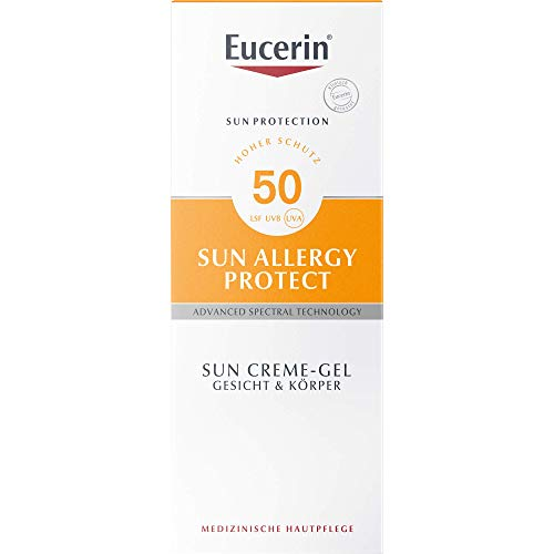 Eucerin Sun Protection Allergy Protect Sun Creme-Gel LSF 50, 150 ml Creme