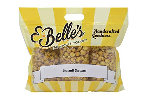 Discover Bargain Belle's Gourmet Popcorn | Sea Salt Caramel - 3 Pack | 100% American Grown | Fresh a...