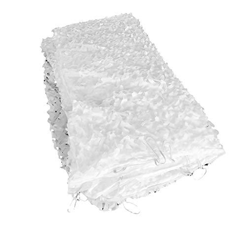 WZHCAMOUFLAGENET Schnee Modus Camouflage Net Kompakt Und Geeignet Für Outdoor Camping Regenschirm Garten Dekoration Sonnencreme Net Camouflage Net Multi-Größe Optional...