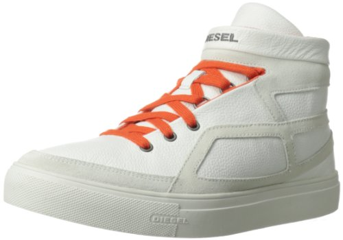 of high tops leading brands only Diesel Men's Route Hi Top Fashion Sneaker