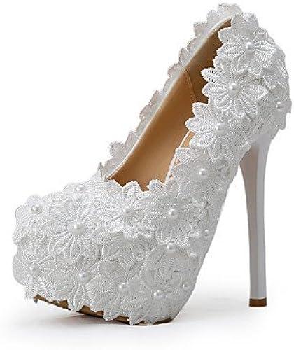 GGX   Chaussures de mariage-Blanc-Mariage   Habillé   Soirée & EvéneHommest-Talons-Talons-Homme  profitez d'une réduction de 30 à 50%