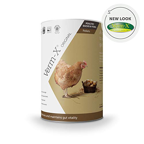 Verm-X kräuter Pellets Für Geflügel-750 Gm Tube, Clear, Unisex